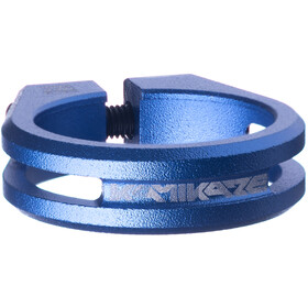 Sixpack Kamikaze Collier de selle Ø34,9mm, blue